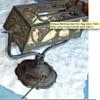 Antique Desk Bankers Lamp