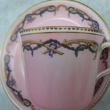 Red/Pink Mark Unidentified - Need Help - China and Dinnerware