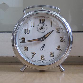 Antique 1950's French Jaz alarm clock. - Clocks