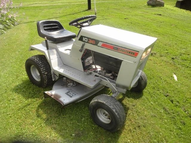 1974 Sears Craftsman Lt 10 36 Riding Mower Collectors