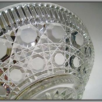 FEDERAL GLASS Bowl -- WINDSOR PATTERN - Glassware
