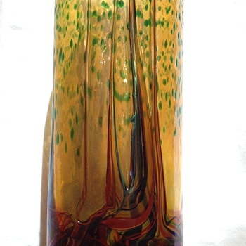 Art Glass Vase by Horvath Marton