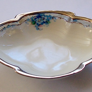 Need Production Date for Gorgeous Made in Czechoslovakia Dish ~ Mark is P.A.L.T. - China and Dinnerware