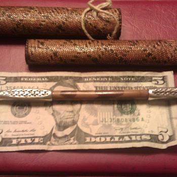 Japanese  silver kiseru pipe