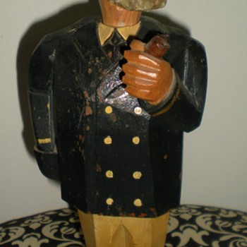 Folk Art musical Wine Cork - Folk Art