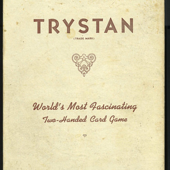 The Trystan Card Game for Two - Cards