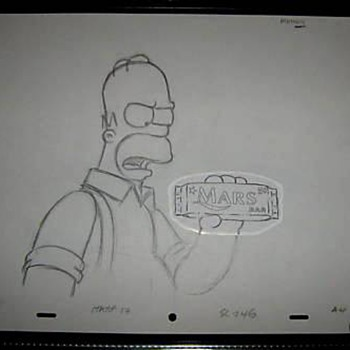 Mars Bar Simpsons