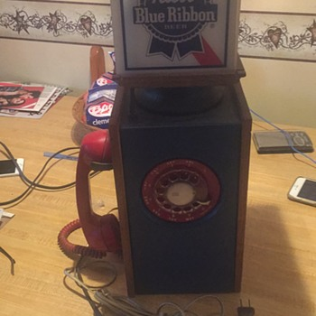 Pabst Blue Ribbon Phone