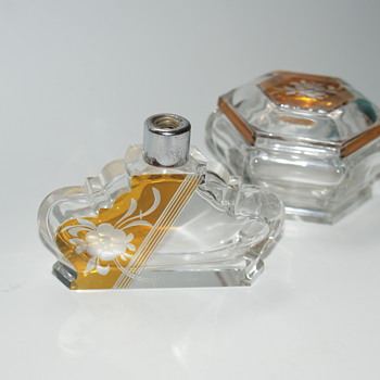 Art Deco Atomizer and Dresser Box - Accessories