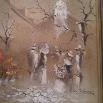 Boris chezar painting - Fine Art