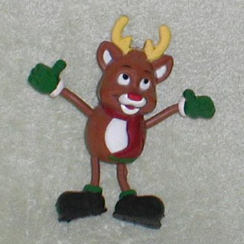 "Christmas ""Rudolph"" Ornament - Christmas"
