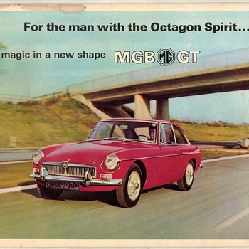 1967 - MG/MGB GT Sales Brochure - Paper