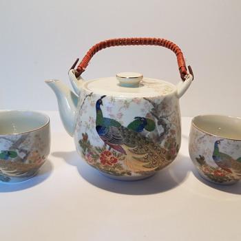 Japanese Tea Pot Set - Asian