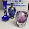Vintage Cobalt Blue Vases