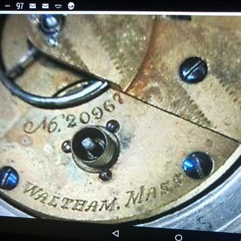 P.E Bartlett pocket watch - Pocket Watches