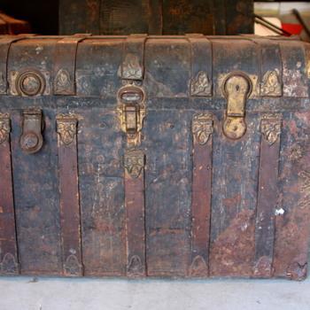 Metal Trunk Info Appreciated - Furniture