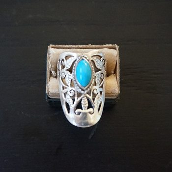 Silver & Turqouise Ring - Fine Jewelry