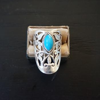 Silver & Turqouise Ring