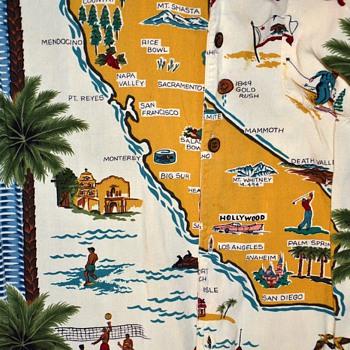 Reyn Spooner Hawaiian California Shirt??