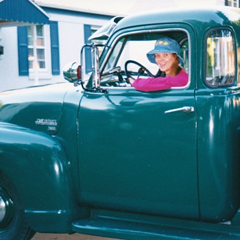 I am ready to take off  in classic truck . - Classic Cars