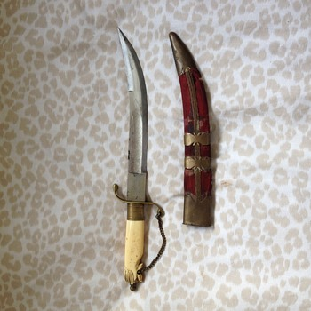 Khalsa Kirpan Knife - Asian