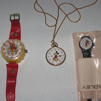 True Pooh and Mickey - Wristwatches