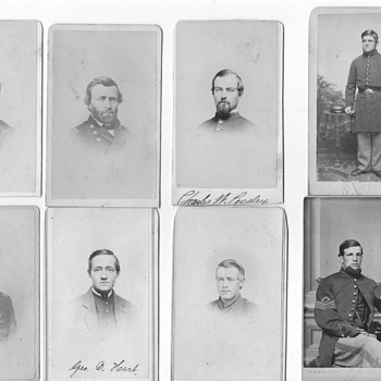 Civil war album 3 scans - Photographs
