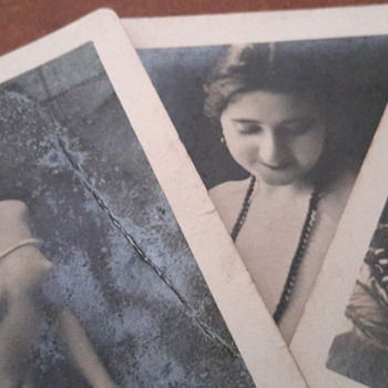 1920s risque post card photos