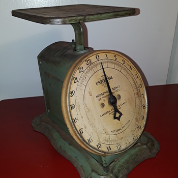 old (-er) UNIVERSAL utility scale - Tools and Hardware