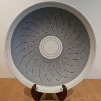 My Poole Freeform Charger - Pottery