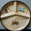 Western-theme divided plate - anyone know the maker?