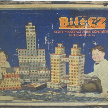 Scott Bilt-E-Z building set