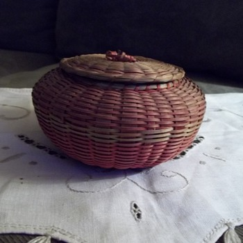 Native American Urchin Basket - Native American