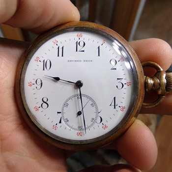 Rare Brumer Bros. - Pocket Watches