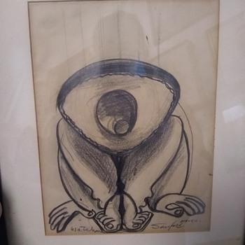 Walter Sanford Sketches - Fine Art