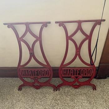 Hartford sewing machine legs - Sewing