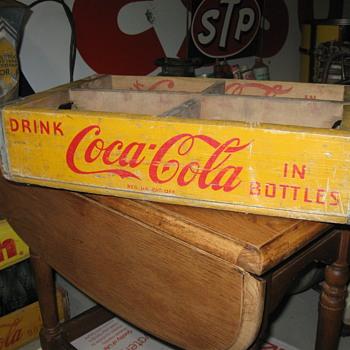 1950 COCA COLA case - Coca-Cola