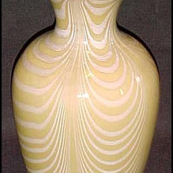 Imperial Lead Lustre Vase c. 1925 - Art Glass