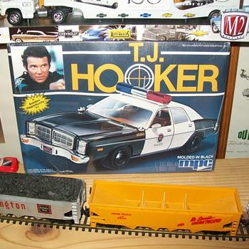 T.J. Hooker model - Model Cars