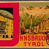 "Travel Decal - ""Innsbruck-Tyrol"" (Austria)"