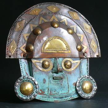 mexican or peruian mask? - Fine Art