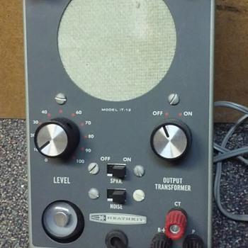 HEATHKIT [audio] SIGNAL TRACER - Electronics