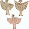 Homemade and Handmade Paper Dolls Folk Art collection Jim Linderman
