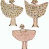 Homemade and Handmade Paper Dolls Folk Art collection Jim Linderman