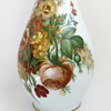 W.H.B. & J. Richardson 'Vitrified' Opaline Glass Vase with Spring Flowers, c.1850