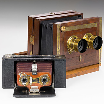 Comparing Two Early Stereo Camera Designs - Cameras