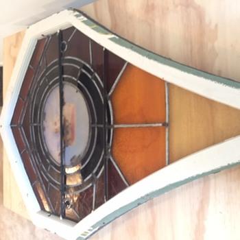 mystery stain glass church window - Art Glass
