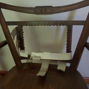 Oak side chair, any info?