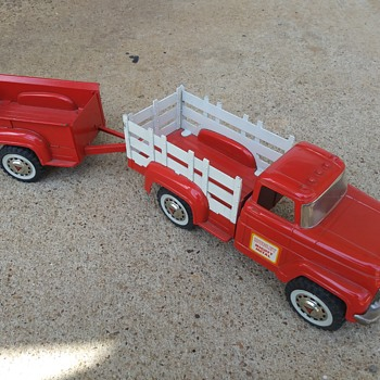 Hubley Stake Truck and Trailer