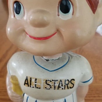 Vintage All-Star Baseball Bobbinhead - Baseball